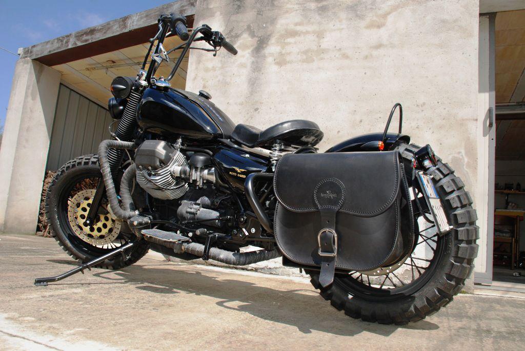 mandello bobber | offroad, moto guzzi and choppers