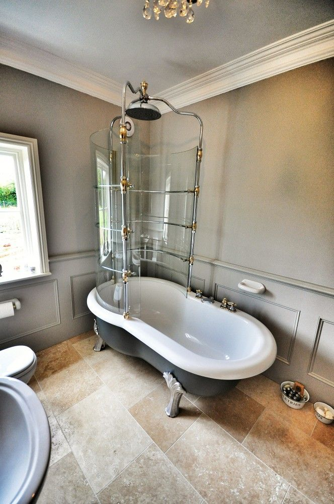 Designer amp luxury bathrooms throughout kent and london bath tubs shower screens for roll top - Designer bath tubs ...