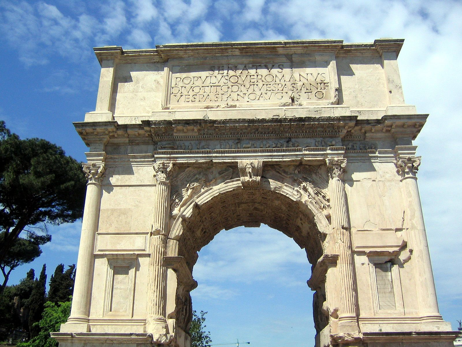 Roman Architecture Arches arch of titus, rome, italy - interesting facts and information