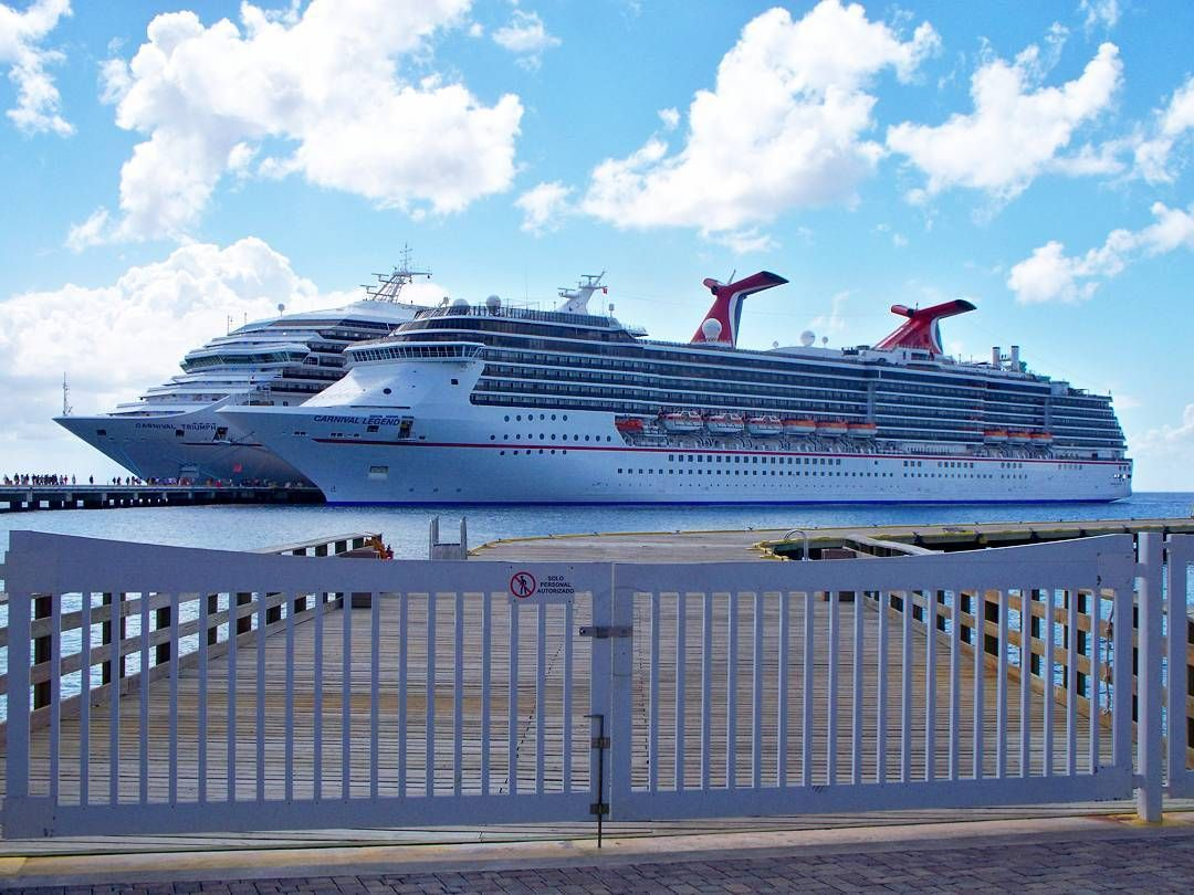 Carnival Legand And Triumph In Cozumel Cruisingdave Cruise - Tampa to bahamas