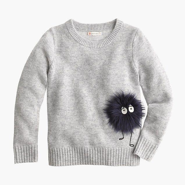 c757cdb59 girls  max the monster wool sweater   girl popovers
