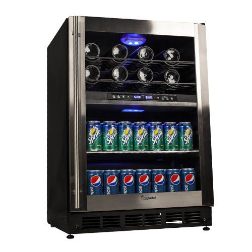 Magic Chef Dual Zone Digital Wine And Beverage Cooler Mcwbc77dzc 549 Wine Coolers Drinks Magic Chef Beverage Cooler