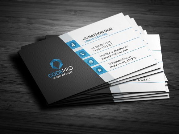 Creative modern business card templates modern creative business creative modern business card templates modern creative business card features cmyk mode 300 dpi fully layered psd f by galaxiya friedricerecipe Gallery