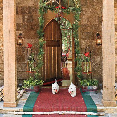 Astonishing 1000 Images About Christmas Exteriors On Pinterest Christmas Easy Diy Christmas Decorations Tissureus