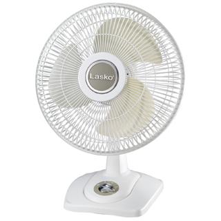White 12 Oscillating Premium Table Fan With Images Lasko Table Fan Desk Fan