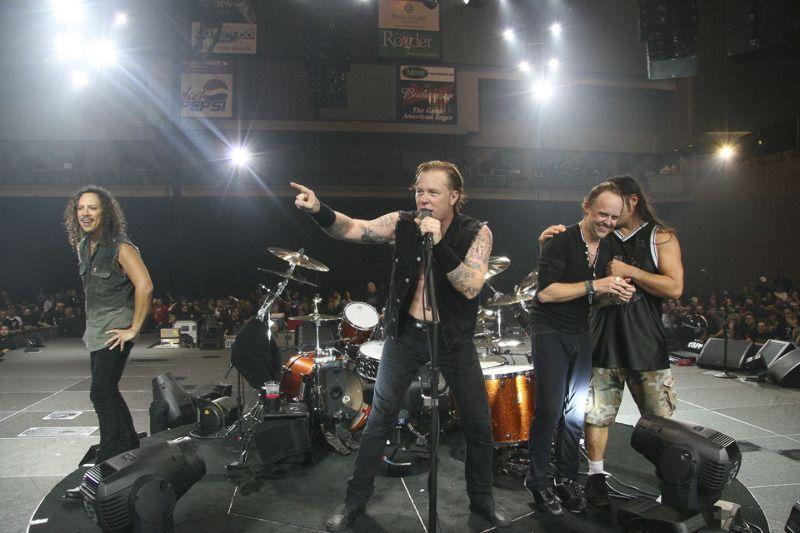 Moline - Nov 8, 2008 - Metallica