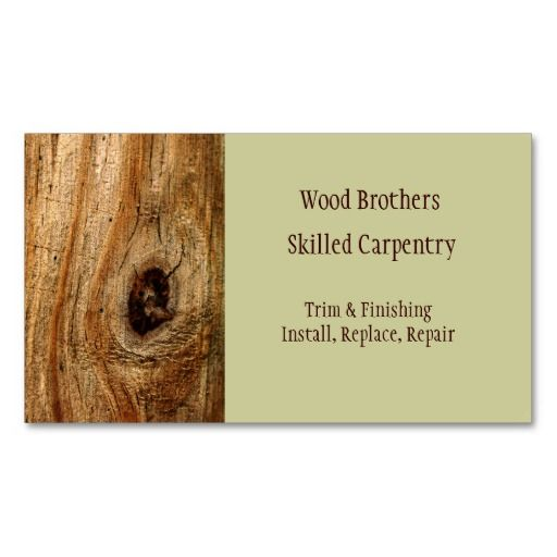 Carpentry Woodwork Business Card Template Woodworking Shows Woodworking Techniques Woodworking Joinery