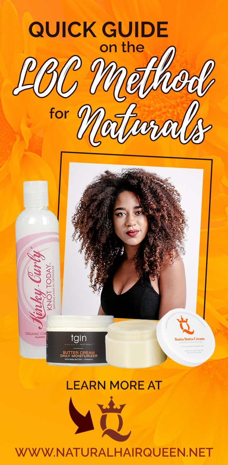 How to use the loc method for less breakage and more hair growth