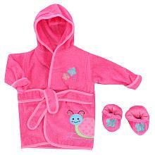 Pink & Blue Snail Robe