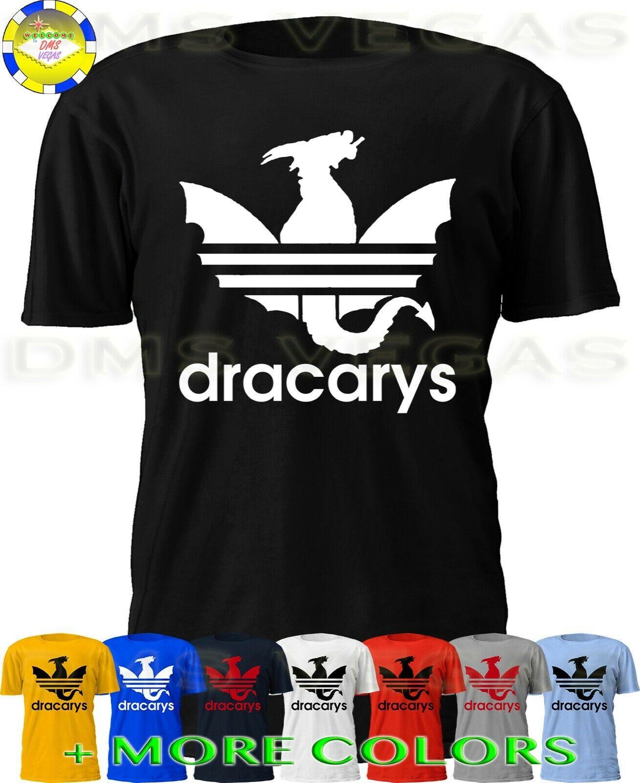 Competitivo patio Secretar  Game Of Thrones Dracarys Adidas Parody Daenerys Targaryen Dragon Shirt Men  S-5XL - Ideas of Dragon Shirt #DragonShirt | Dragons shirts, Cool tee  shirts, Shirts