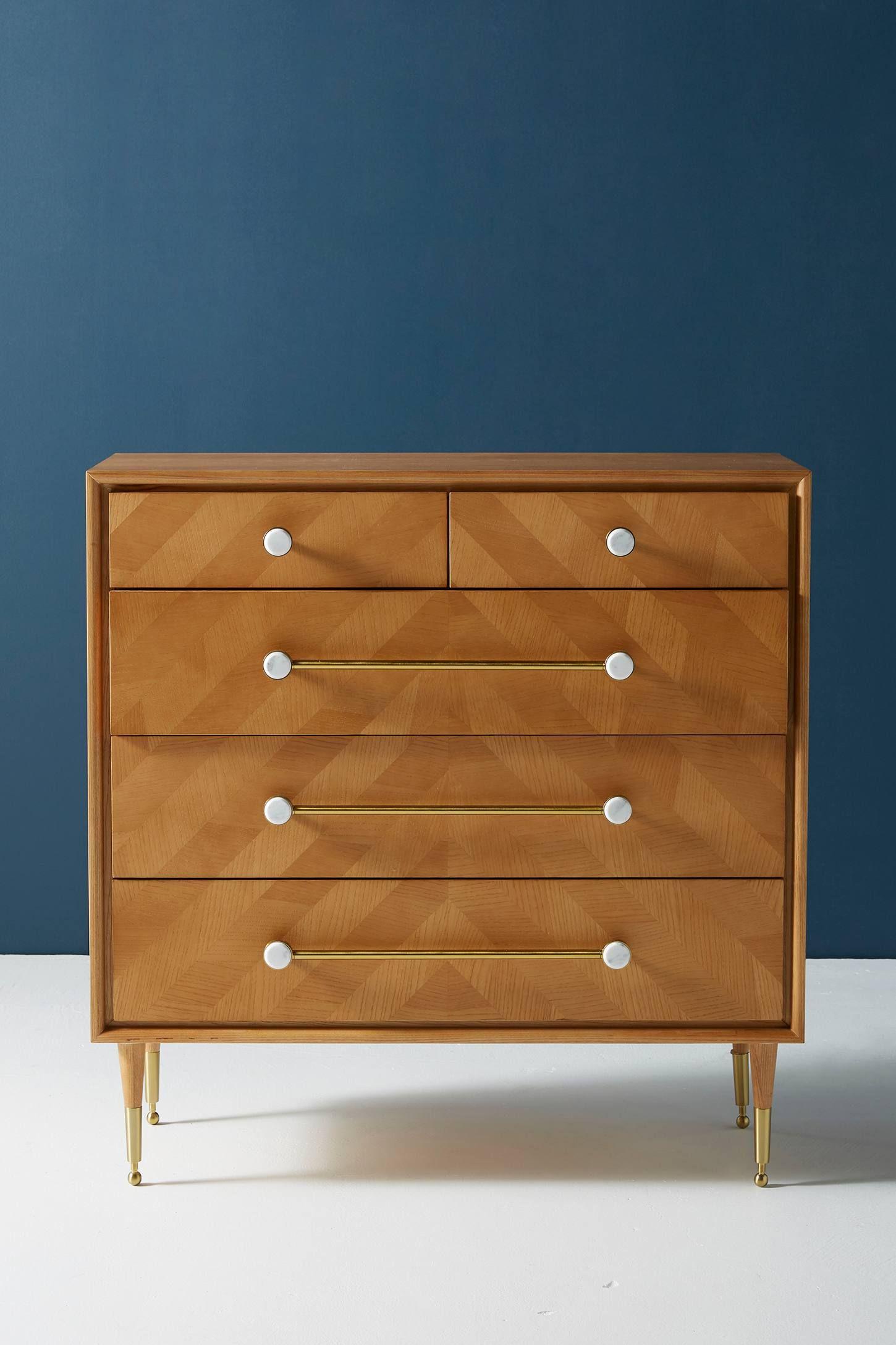 Nelson Five Drawer Dresser Dresser Dresser Drawers Drawers