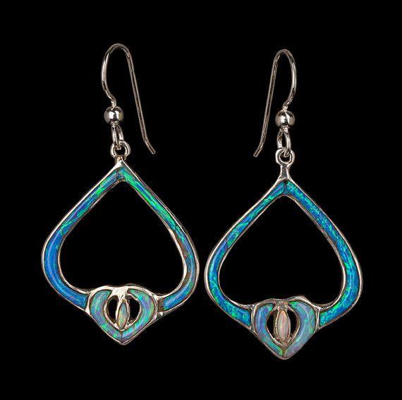 Cultured Opal Alhambra Earrings