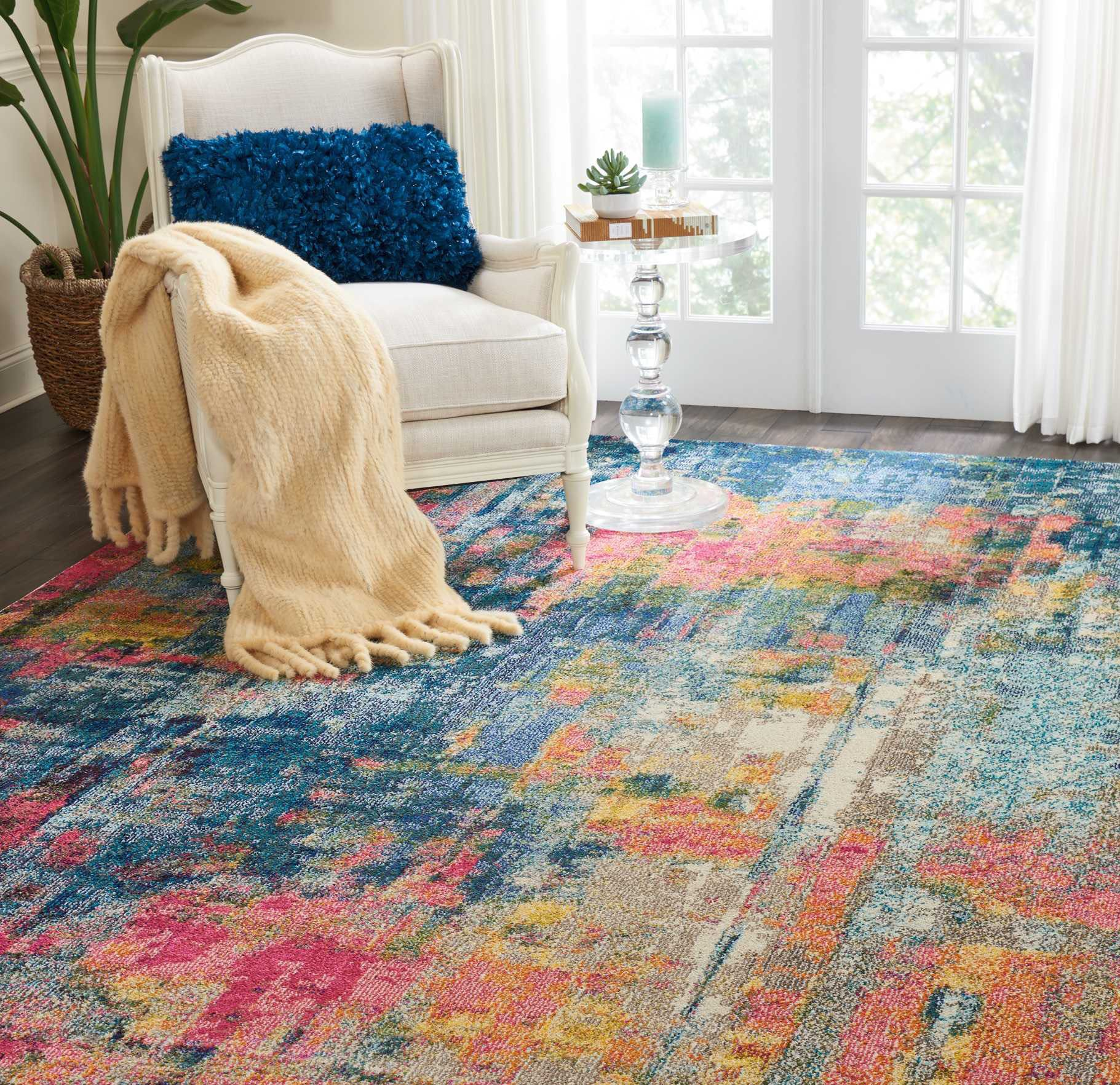 Yellow Carpet Rugs In Living Room