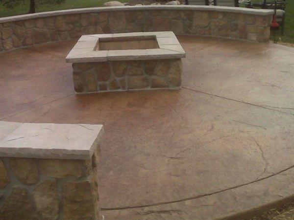 Concrete Porch and Patio Refinishing