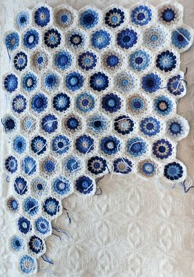 arctic strawberries: Sigurds babyteppe - Sigurd's baby blanket