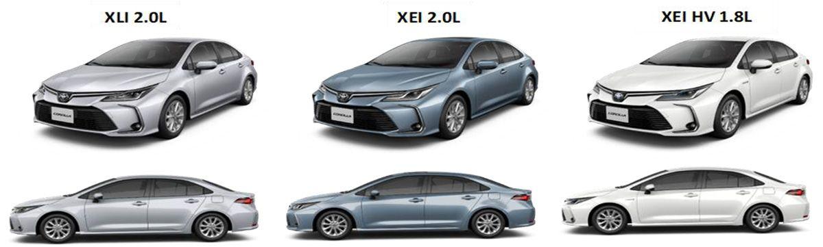 Lanzamiento Toyota Corolla Xli 2 0 Xei 2 0 Y Xei Hybrid 2020 En 2020 Toyota Corolla Toyota Toyota Prius