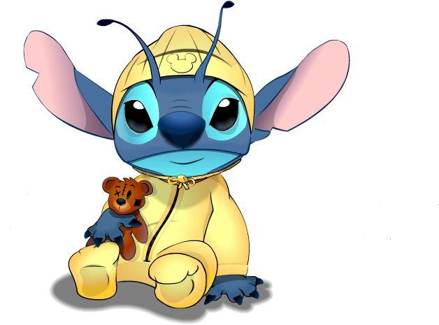 Baby Stitch By Luckysas On Deviantart Stitch Disney Stitch Drawing Lilo And Stitch