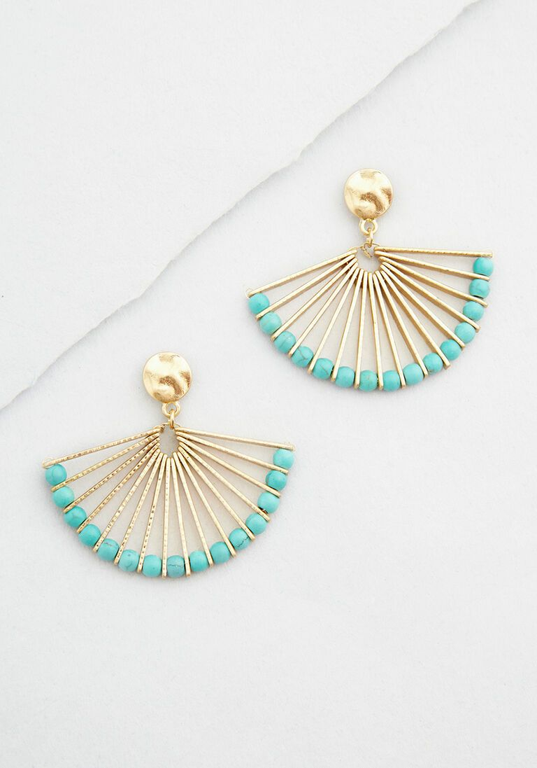 Photo of Fan With a Plan Beaded Earrings – Vintage Inspired