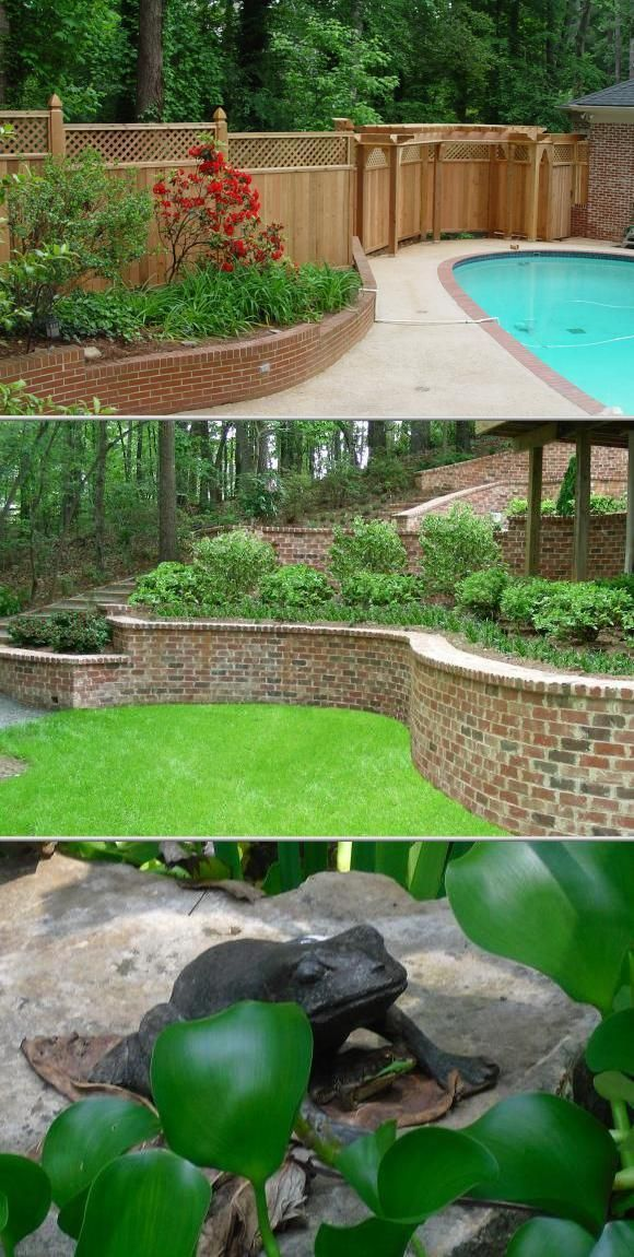 Georgia Natural Scapes Is One Of The Top Landscaping Contractors That Will Provide Small Backy Small Backyard Landscaping Backyard Landscaping Landscape Design