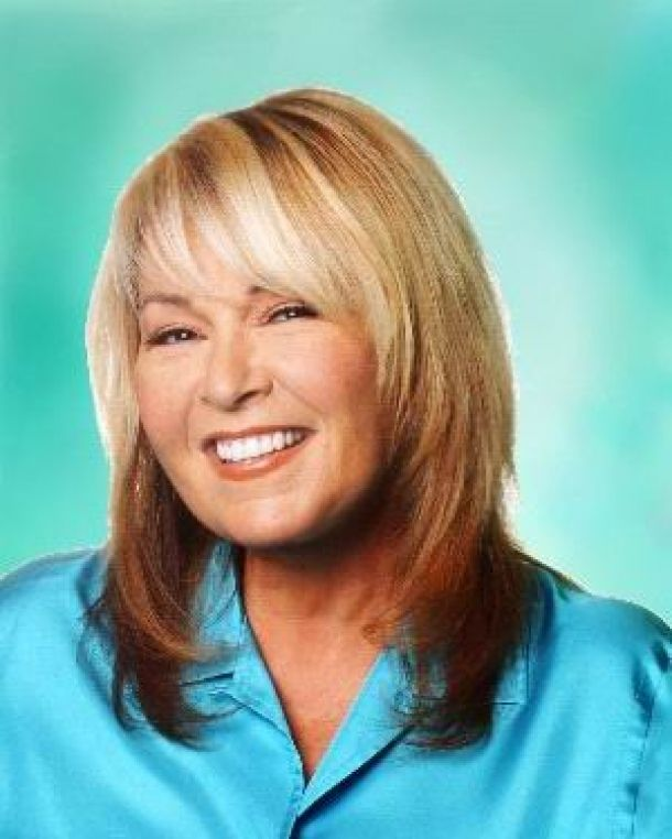 Hairstyles For Plus Size Faces Hairstyle Roseanne Barr With