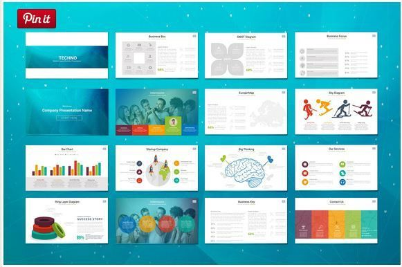 Techno timeline templates for powerpoint http\/\/textycafe - powerpoint proposal template