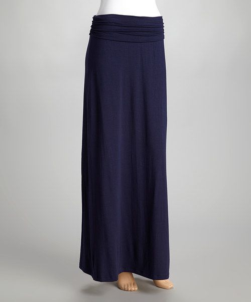 48b47e610c Classic+for+a+reason,+this+soft+maxi+skirt +is+an+every-closet+basic.+Stretchy+fabric+flatters+the+figure+while+a+fold- over+waist+adds+a+flair+of+fashion.