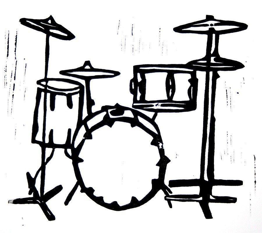 Картинки барабаны рисунок