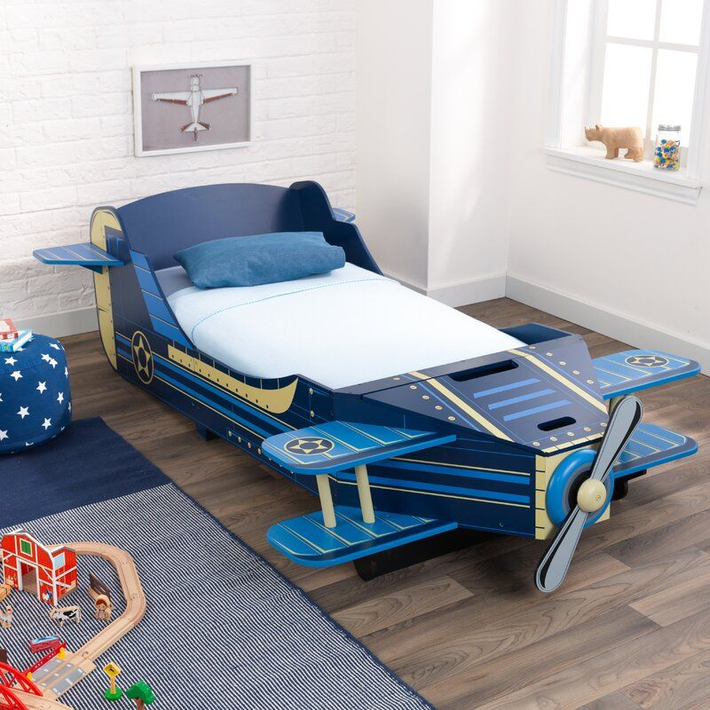 Airplane Toddler Car Bed images