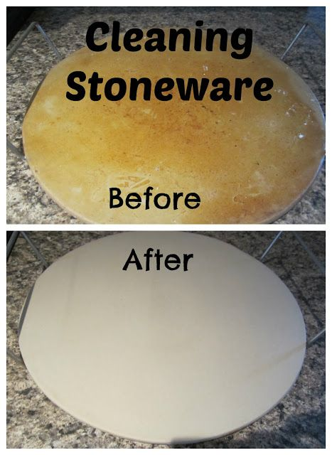 Cleaning Stoneware
