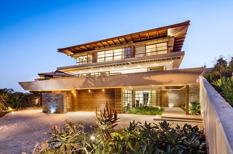 Feng Shui Haus -garten-haustür-vorgarten-modern-design | Haus ...