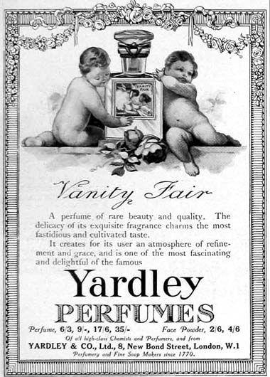 1918 Yardley perfumes