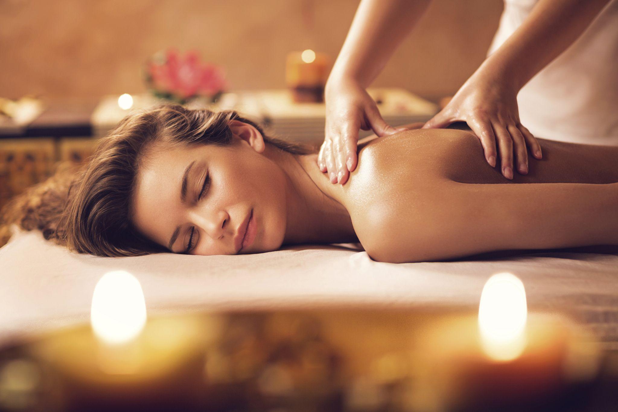 Sex in a massage XXX