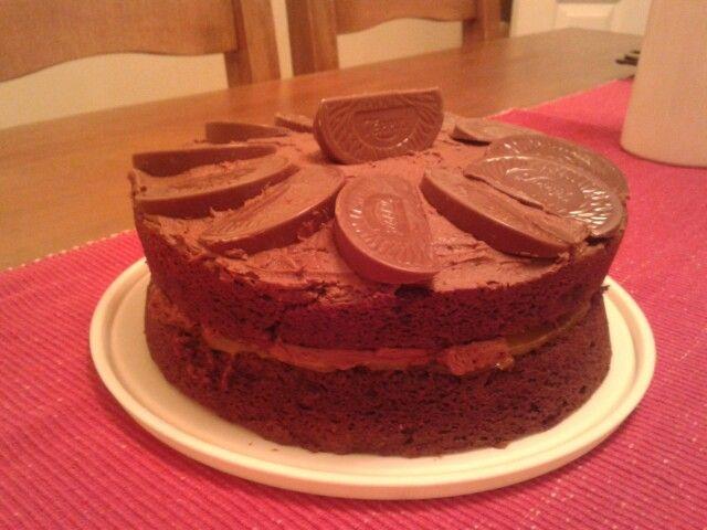 Choc orange cake :)