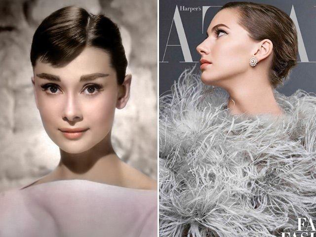 Audrey Hepburn Emma Ferrer. Foto-gallery e immagini