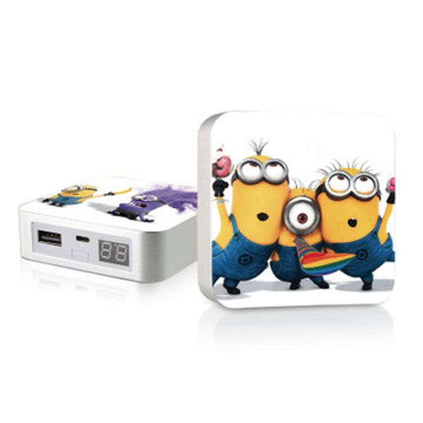 The Minions come back, USD55 for 5pcs. Buy The Minions Dual Port Portable Power Bank 5800mah from Reliable Backup Powers suppliers on E-electronics.