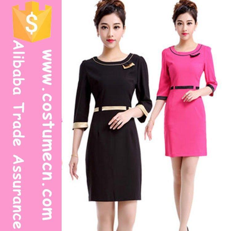 2015 new arrival hot design elegant office uniform designs for Spa uniform alibaba
