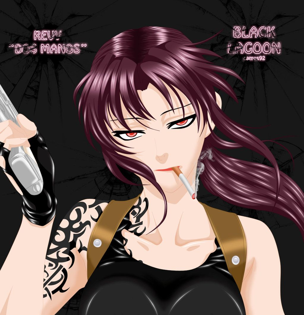 Black Lagoon Revy By Camus92 Anime Blacklagoon Black Lagoon