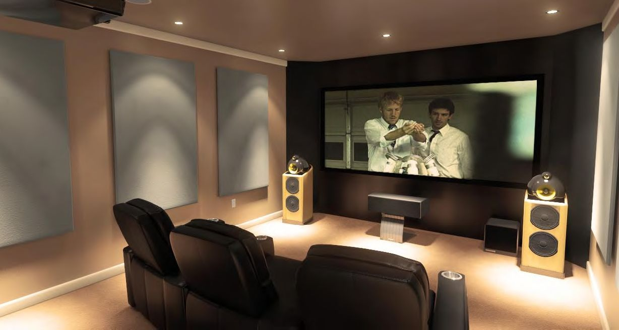 Basement Home Theatre Ideas Property 15 awesome basement home theater cinema room ideas | small rooms