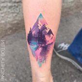 Photo of ▷ 1001 + Ideen für ein wunderschönes Aquarell Tattoo, das Sie Herren Hüft T…