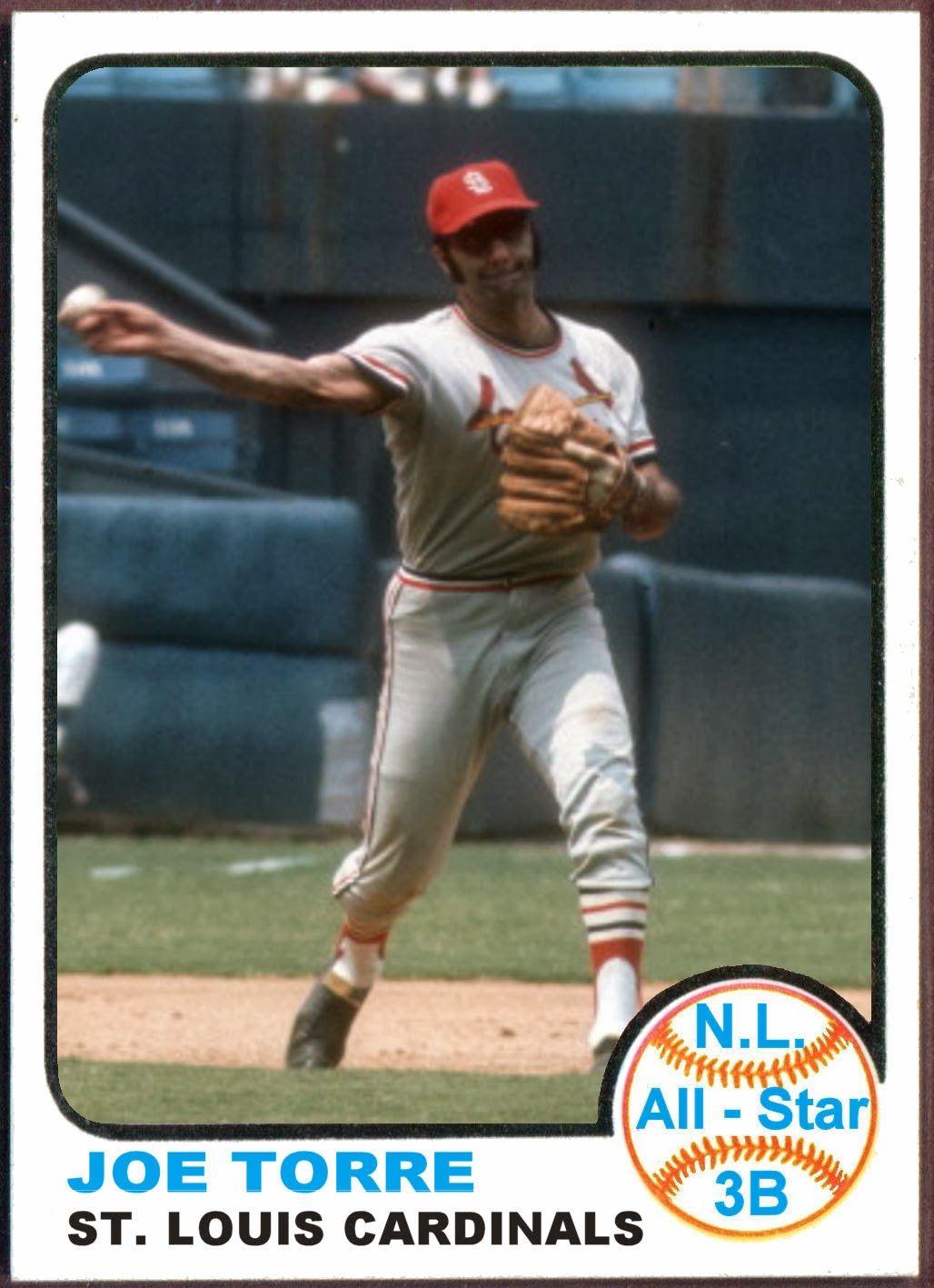 1973 Topps Joe Torre AllStar. Baseball Cards That Never