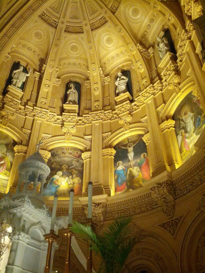 Church of St. Francis Xavier in New York. I love this