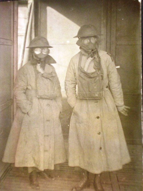 gas masks : soon to make a comeback?