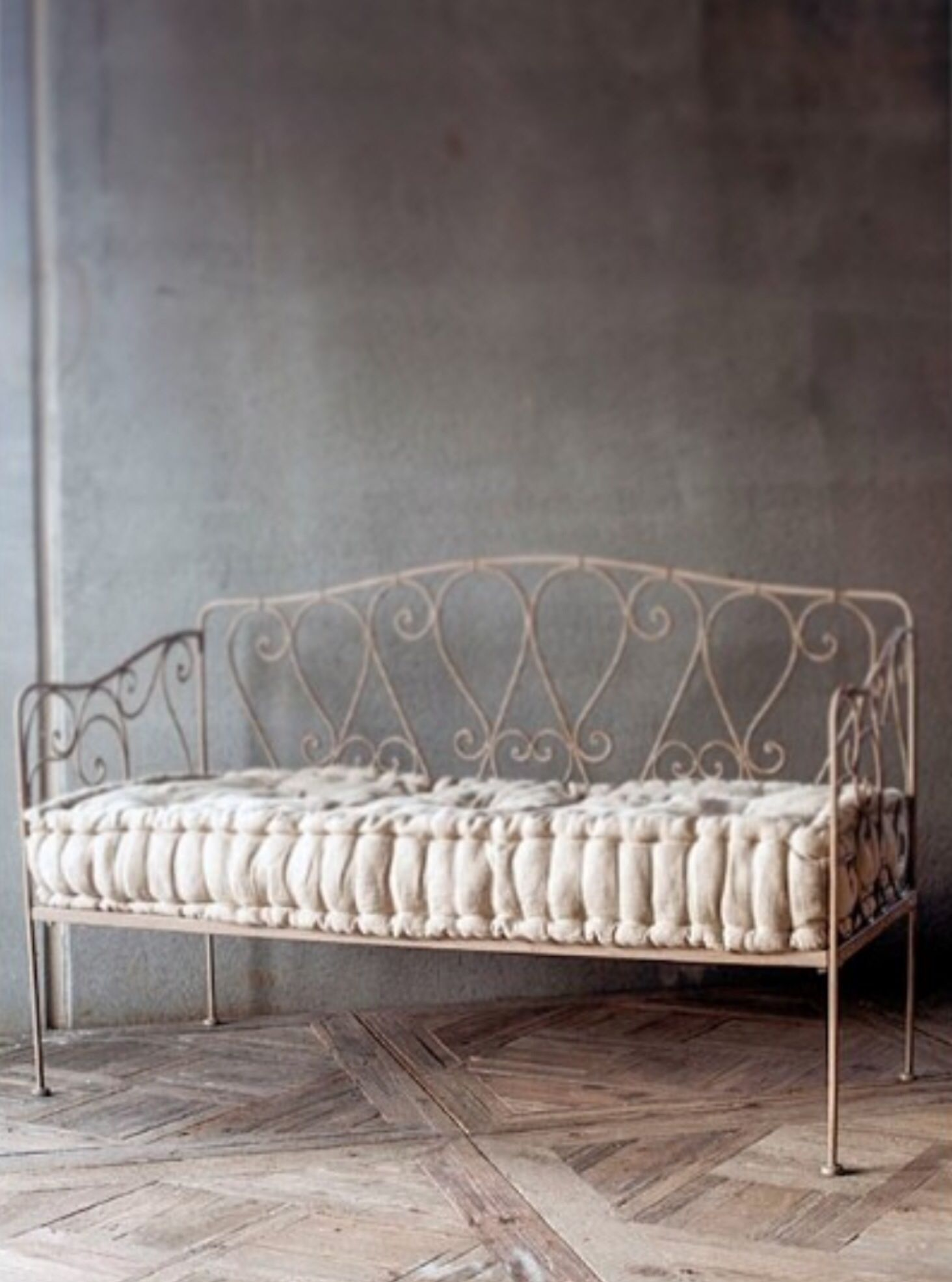 ... Irons, Sweet, Bench, Bench Brocante, Iron Daybed, Brocante Home, Sofas