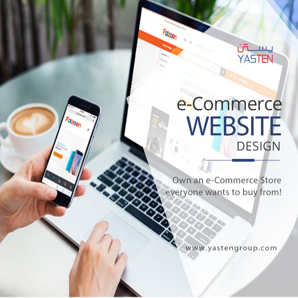 Have an idea on online shopping portal? We will make it