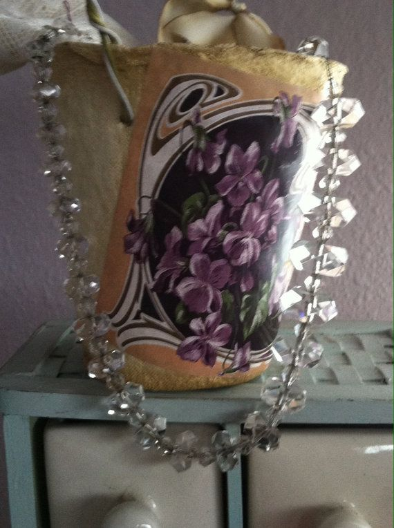 Check out this item in my Etsy shop https://www.etsy.com/listing/223435884/vintage-crystal-romantic-wedding