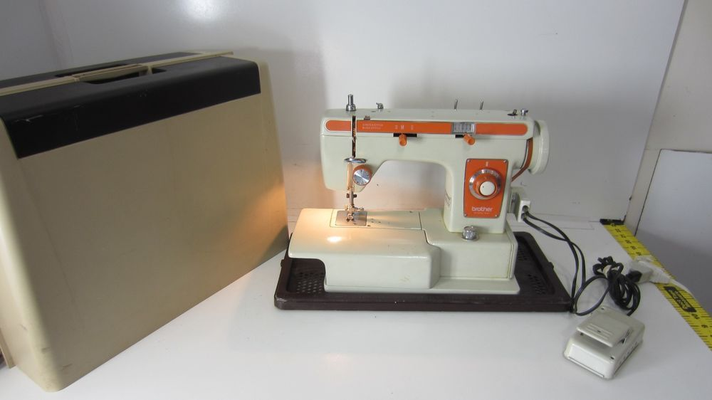 Vintage Brother Riviera 40 Heavy Duty Sewing Machine Brother Adorable Brother Sewing Machine Heavy Duty