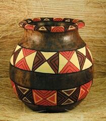African pot in 2019   African pottery, African art ...