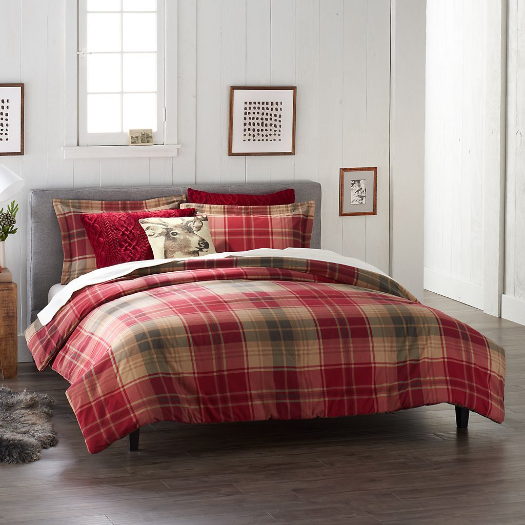 cuddl duds flannel comforter set | house and home | pinterest