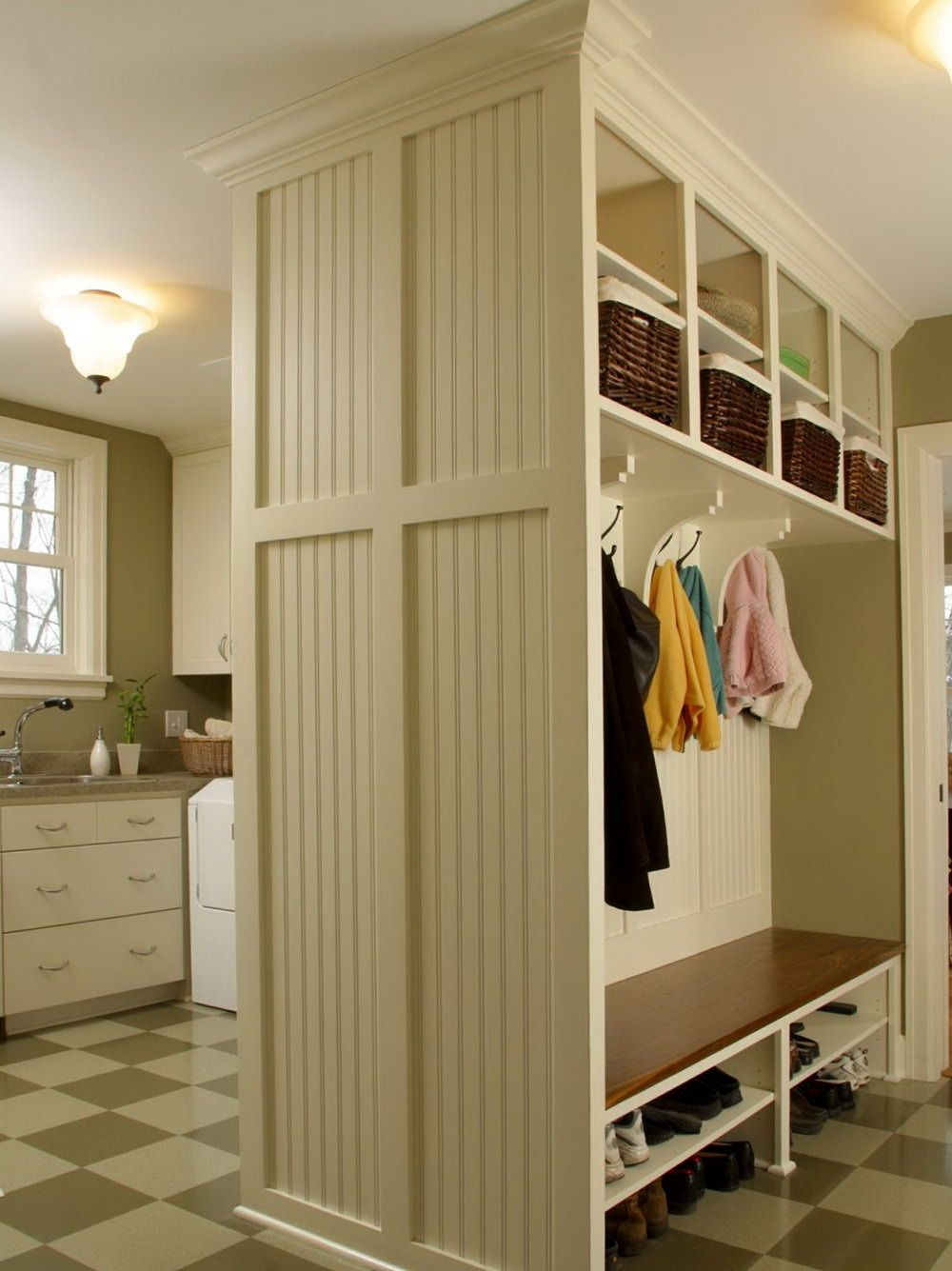 Lovely Laundry Room Bench Ideas Part - 14: Laundry Room Bench Ideas