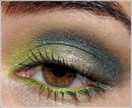 nars look rajasthan eyeshadow duo  smoke eye makeup